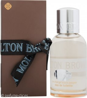 Molton Brown Re-Charge Black Pepper Eau de Toilette 50ml Vaporizador