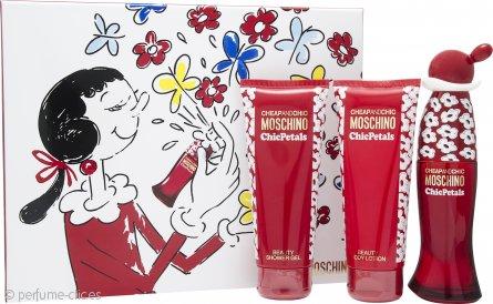 Moschino Cheap & Chic Chic Petals Set de Regalo 50ml EDT + 100ml Loción Corporal + 100ml Gel de Ducha