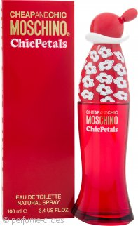 Moschino Cheap & Chic Chic Petals Eau de Toilette 100ml Vaporizador