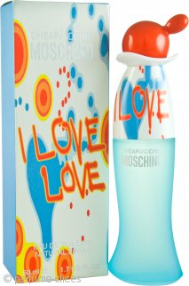 Moschino Cheap & Chic I Love Love Eau de Toilette 50ml Vaporizador