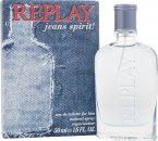 Replay Jeans Spirit! for Him Eau de Toilette 50ml Vaporizador