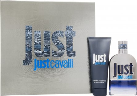 Roberto Cavalli Just Cavalli Him Set de Regalo 50ml EDT + 75ml Gel de Ducha