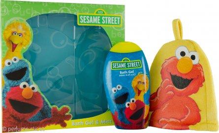Sesame Street Sesame Street Set de Regalo 250ml Gel de Baño y Manopla Baño