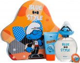 The Smurfs Brainy Set de Regalo 100ml EDT + 75ml Gel de Ducha + Cadena Llave