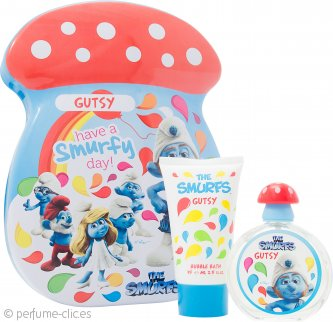 The Smurfs Gutsy Set de Regalo 50ml EDT + 75ml Baño Burbujas