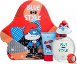 The Smurfs Papa Set de Regalo 100ml EDT + 75ml Gel de Ducha + Cadena Llaves