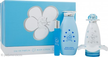 The Smurfs Smurfette Mania Set de Regalo 50ml EDP + 150ml Loción Corporal + 8ml EDP Roll-On