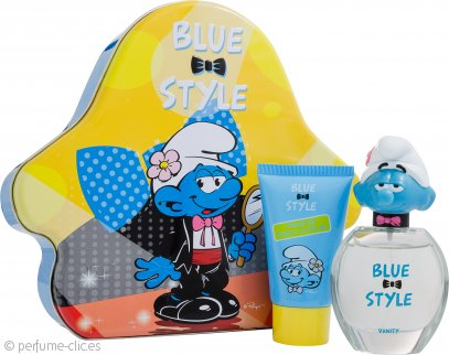 The Smurfs Vanity Set de Regalo 50ml EDT + 75ml Gel de Ducha