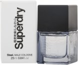 Superdry Steel Eau de Cologne 25ml Spray
