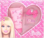 Barbie Barbie Set de Regalo 75ML EDT + 150ml Loción Corporal + Pulserita