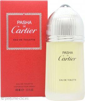 Cartier Pasha de Cartier Eau de Toilette 100ml Vaporizador