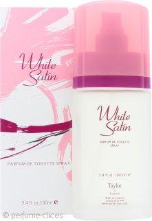 Taylor of London White Satin Parfum de Toilette 100ml Vaporizador