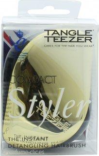 Tangle Teezer Cepillo Compacto Desenredante Pelo + Negro y Oro