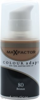 Max Factor Colour Adapt Base 34ml - #80 Bronceadora