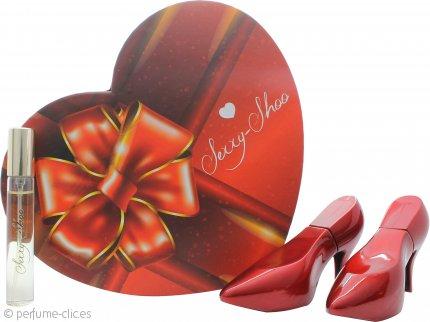 Laurelle Sexxy Shoo Red Set de Regalo 2 x 30ml EDP Vaporizador + 15ml EDP Vaporizador