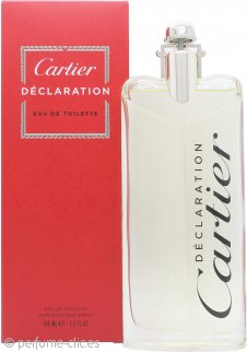 Cartier Declaration Eau de Toilette 100ml Vaporizador