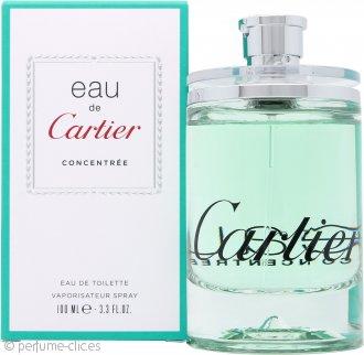 Cartier Eau de Cartier Concentree Eau de Toilette 100ml Vaporizador