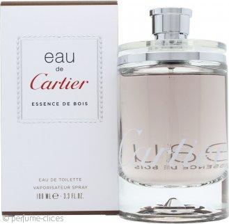 Cartier Eau de Cartier Essence de Bois Eau de Toilette 100ml Vaporizador