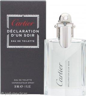 Cartier Declaration D'Un Soir Eau de Toilette 30ml Vaporizador