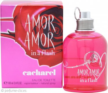 Cacharel Amor Amor In a Flash Eau de Toilette 100ml Vaporizador