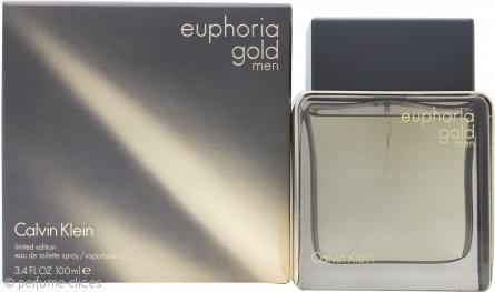 Calvin Klein Euphoria Gold Men Eau de Toilette 100ml Vaporizador