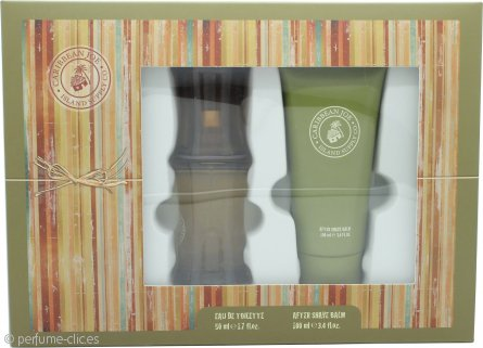 Caribbean Joe For Him by Caribbean Joe Set de Regalo 50ml EDT + 100ml Bálsamo Aftershave