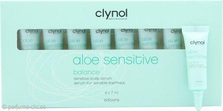 Clynol Aloe Sensitive Serum Balance Cuero Cabelludo 8x7ml
