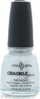 China Glaze Crackle Glaze Laca de Uñas Piezas Platino 1044 14ml