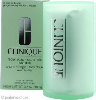 Clinique Cleansing Range Jabón facial con estuche 100g Extra Mild