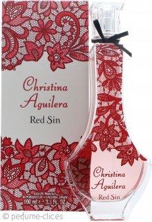 Christina Aguilera Red Sin Eau De Parfum 100ml Vaporizador