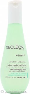 Decleor Aroma Cleanse Loción Fresca Mate 200ml – Piel Mixta/Grasa