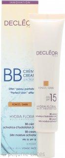 Decleor Hydra Floral Crema BB Multi-Protección 24hr Activador Hidratante 40ml FPS15 (Oscura)