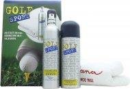 Dana Golf Sport Set de Regalo 200ml EDT + 200ml Desodorante en Vaporizador + Toalla Deporte