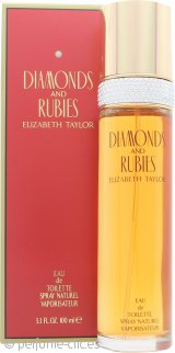 Elizabeth Taylor Diamonds & Rubies Eau de Toilette 100ml Vaporizador