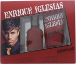 Enrique Iglesias Adrenaline Set de Regalo 30ml EDT + 200ml Gel Cabello&Cuerpo