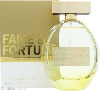 Fame & Fortune Fame & Fortune for Women Eau de Toilette 100ml Vaporizador