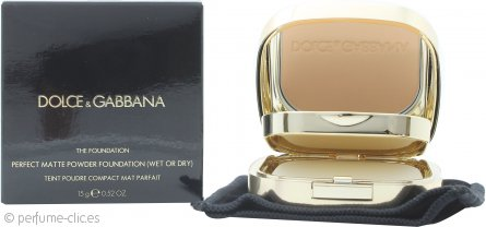 Dolce & Gabbana Perfect Matte Base en Polvo 15g - 95 Buff