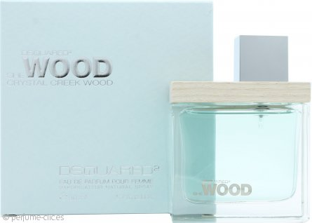 DSquared2 She Wood Crystal Creek Wood Eau de Parfum 50ml Vaporizador