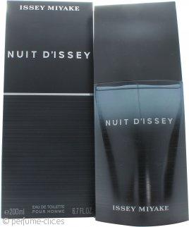 Issey Miyake Nuit d'Issey for Men Eau de Toilette 200ml Vaporizador