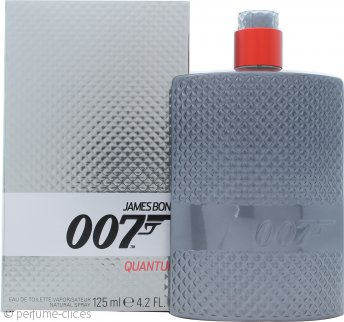James Bond 007 Quantum Eau de Toilette 125ml Vaporizador