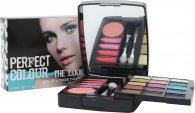 Jigsaw Perfect Colour The Look Set de Maquillaje - 20 Piezas (Sombras de Ojos + Lip Gloss + Colorete + Aplicadores)