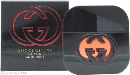 Gucci Guilty Black Pour Femme Eau de Toilette 30ml Vaporizador