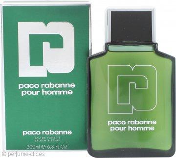 Paco Rabanne Paco Rabanne Pour Homme Eau de Toilette 200ml Vaporizador