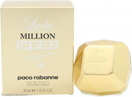 Paco Rabanne Lady Million Eau My Gold! Eau de Toilette 30ml Vaporizador