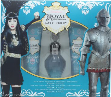 Katy Perry Royal Revolution Set de Regalo 30ml EDP + 75ml Loción Corporal + 75ml Gel de Ducha