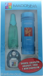 Madonna Nudes 1979 Jean's Set de Regalo 50ml EDP + Mini Radio