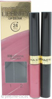 Max Factor Lipfinity Color de Labios - 330  Essential Burgundy