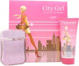 Laurelle City Girl New York Set de Regalo 100ml EDP + 200ml Gel Corporal