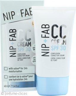 Nip + Fab CC Cream Corrector Complexión SPF 30 40ml Claro