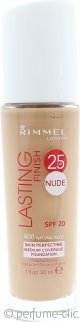 Rimmel Lasting Finish Nude Base 30ml - Natural Beige 400